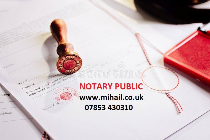 Notary Public Ealing